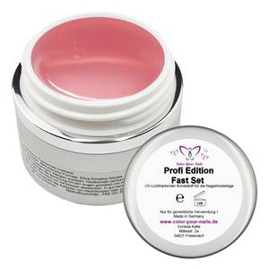 Profi Edition Fast Gel rose´. Für Refill/ Backrefill 15ml