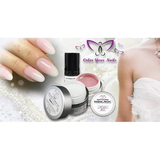 Babyboomer Vight- Gel Set : Ice White,  Camouflage Builder Naturell